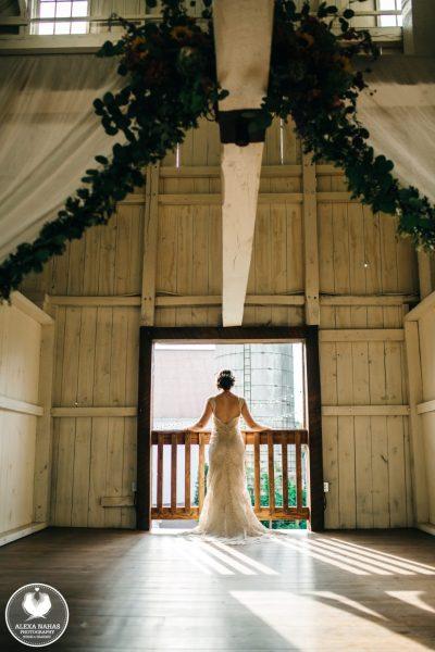 balcony bride